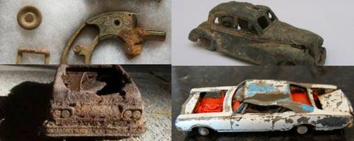 antika klassiska leksaker