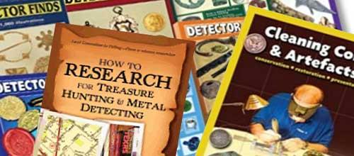 Böcker om Metalldetektering