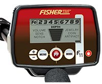 Good cheap metal detector Fisher F11
