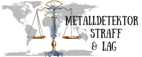 Metalldetektor Straff & Lag