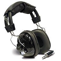 Hörlurar-metalldetektor