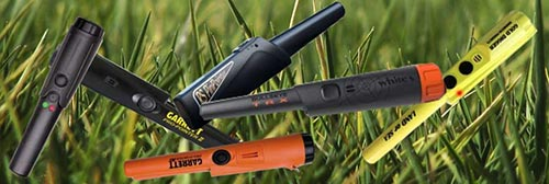 Buy-pinpointer pinpoiters on gras