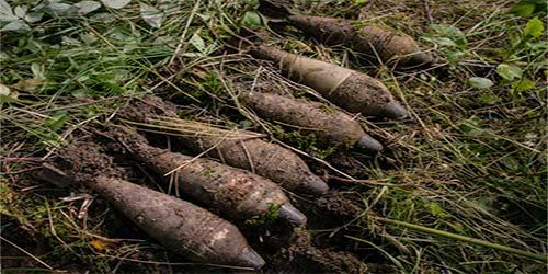 metalldetektorfynd wwII ammunition