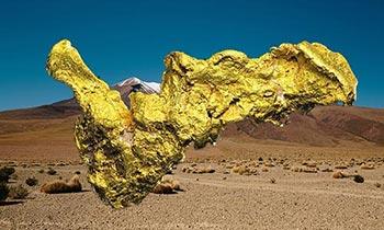 största guldklimpen Boot of Cortez