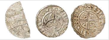 3 st silvermynt Skattsökning i Sverige