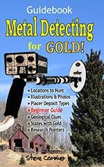 Metal detecting for gold book Böcker om Metalldetektorer