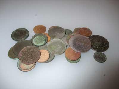 typiska-strandfynd Mynt