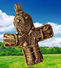 krucifix från Danmark